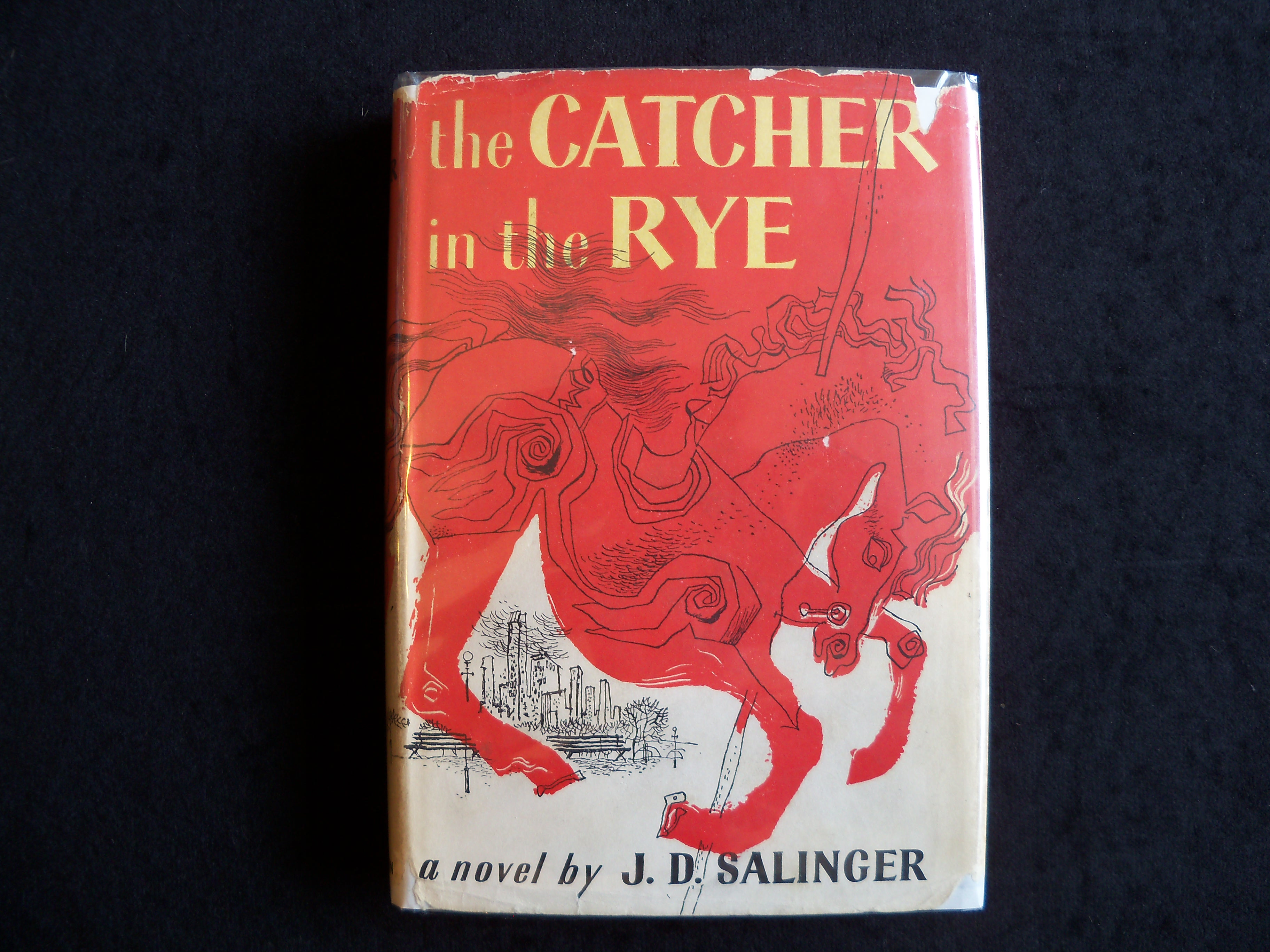 Book Of The Month Catcher In The Rye