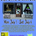 Super Summer Sidewalk Sale