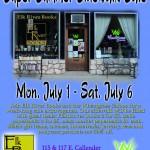 Super Summer Sidewalk Sale