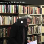 "Video: William ""Gatz"" Hjortsberg Reading from 3/19/13"