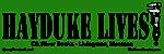 Hayduke Lives bumper sticker